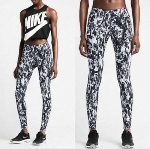 Nike Pants - Nike leg a see mishmash leggings